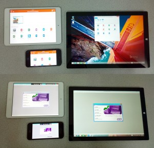 MYOB running via RemoteApp on iPhone, iPad and Surface Pro 3